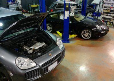 Blitz Porsche 2